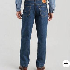 LEVI'S 560 Comfort 46/32 Jeans Blue Big Tall